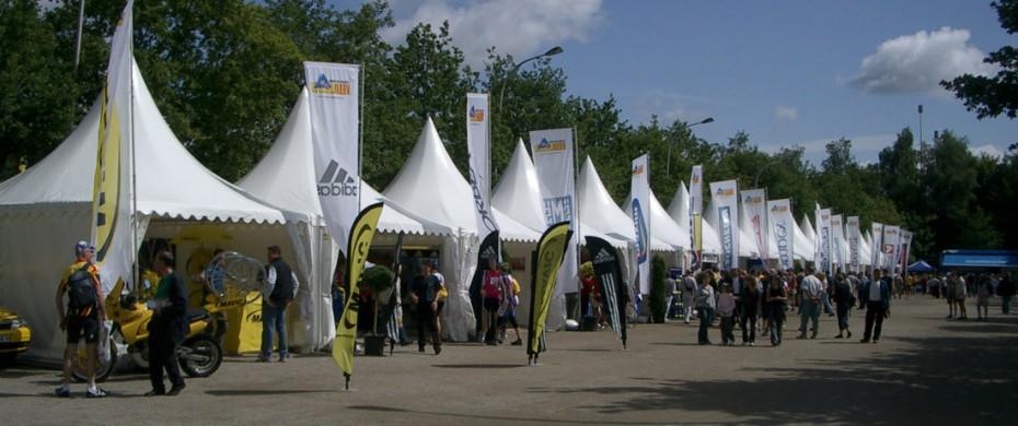 Village de départ course cycliste nationale, 40 gardens 5mx5m