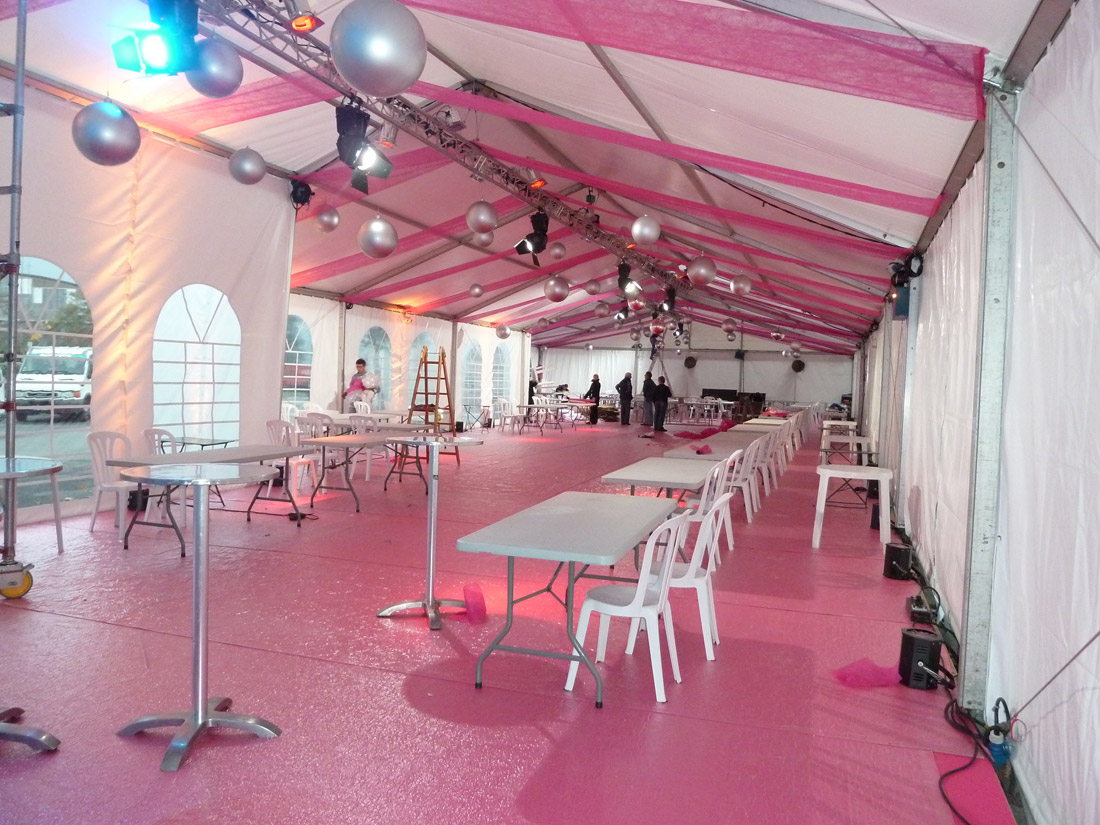 Limousin r ception salon foire exposition for Salon comite entreprise