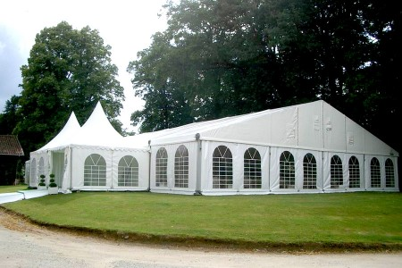Structures toit 2 pentes, 15m, 20m