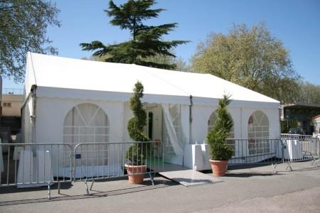 Structures toit 2 pentes, 8m, 10m